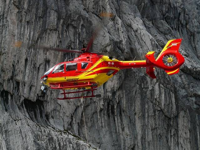 Free photo: Rescue Helicopter, Colours, Red - Free Image on Pixabay - 61009 (14546)