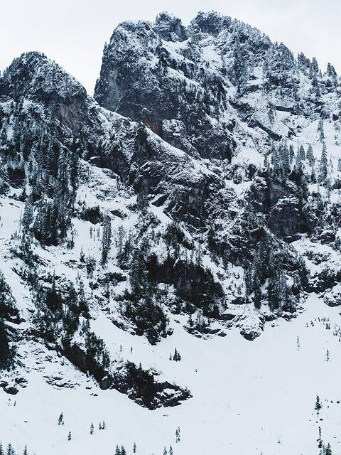 Free photo: Mountain, Snow, Snow Mountain - Free Image on Pixabay - 1245908 (14550)