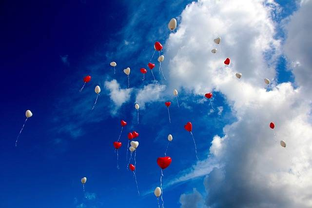 Free photo: Balloon, Heart, Love, Romance, Sky - Free Image on Pixabay - 1046658 (17051)