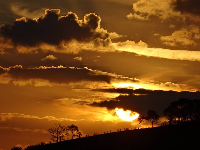 Free photo: Sunset, Horizon, Cloud, Landscape - Free Image on Pixabay - 369498 (20643)