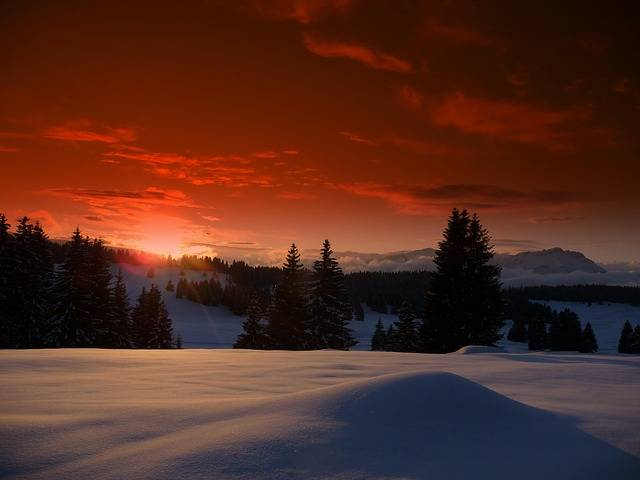 Free photo: Luserna, Trentino, Snow, Sunset - Free Image on Pixabay - 2023666 (24240)