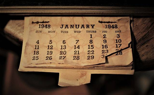 Free photo: January, Calendar, Month, Year, Day - Free Image on Pixabay - 2290045 (25266)