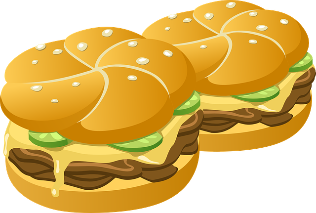 Free vector graphic: Hamburgers, Burgers, Buns, Rolls - Free Image on Pixabay - 575655 (25553)