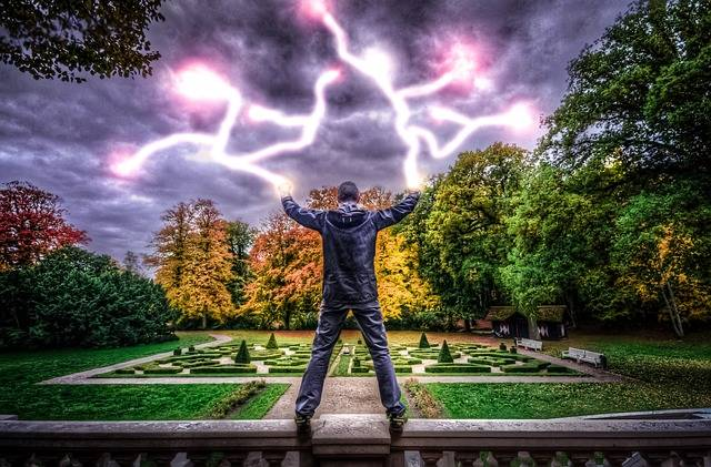 Free photo: Man, Power, Electricity, Strong Man - Free Image on Pixabay - 1069219 (25815)