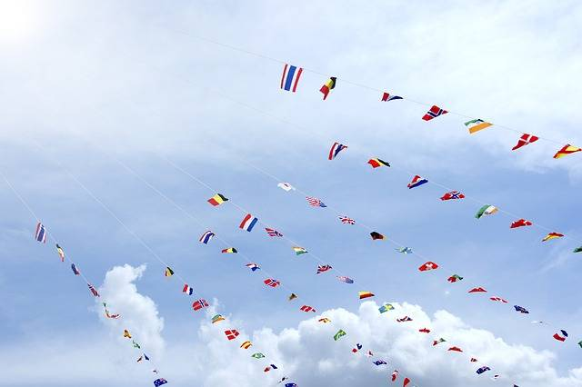 Free photo: Bunting, Sports Day, Clear Skies - Free Image on Pixabay - 961586 (26999)