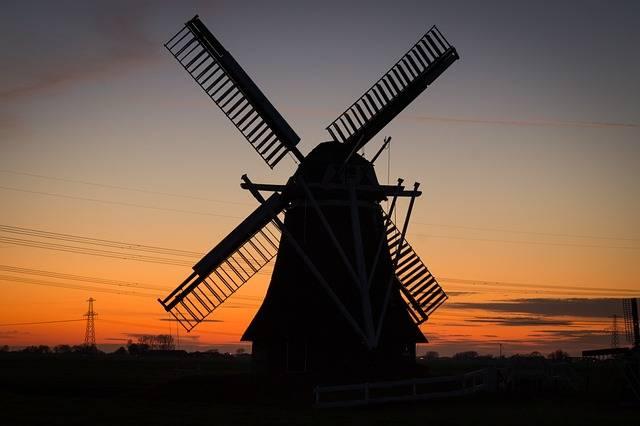 Free photo: Windmill, Rural, Twilight - Free Image on Pixabay - 384622 (27928)
