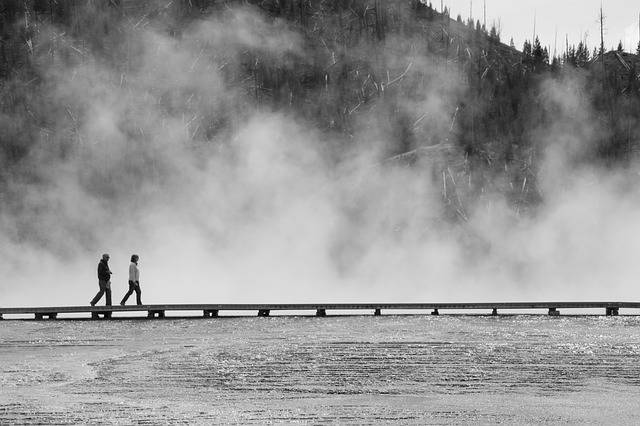 Free photo: Yellowstone, Black And White - Free Image on Pixabay - 2294110 (34027)