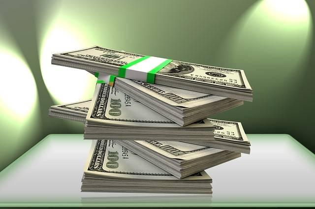 Free illustration: Money, Dollar, Stack, Funds - Free Image on Pixabay - 1090815 (34620)