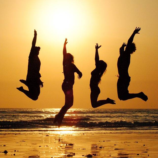 Free photo: Sunset, Beach, Group, Jump, People - Free Image on Pixabay - 2103130 (35936)
