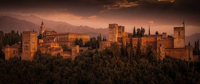 Free photo: Alhambra, The Strength Of The - Free Image on Pixabay - 2428790 (36811)