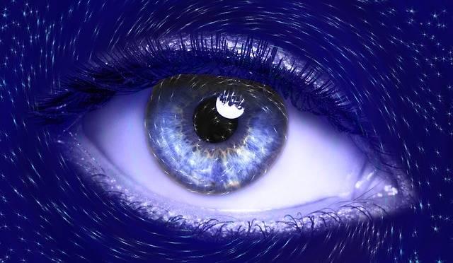 Free illustration: Eye, Blue, Vision, Iris, Futuristic - Free Image on Pixabay - 491625 (40234)