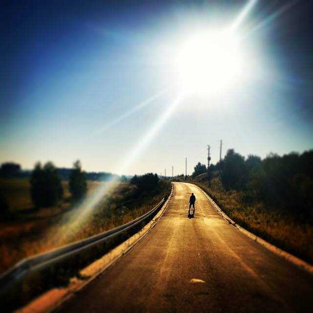 Free photo: The Sun, Way, Street, Man - Free Image on Pixabay - 470317 (43119)