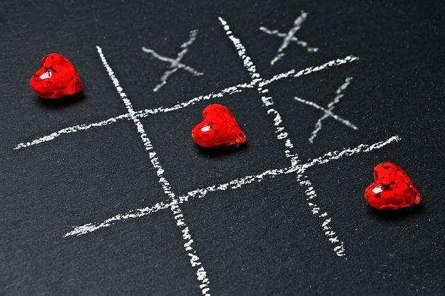 Free photo: Tic Tac Toe, Love, Heart, Play - Free Image on Pixabay - 1777859 (43152)