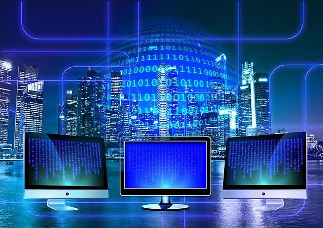 Free illustration: Monitor, Binary, Binary System - Free Image on Pixabay - 1307227 (44489)