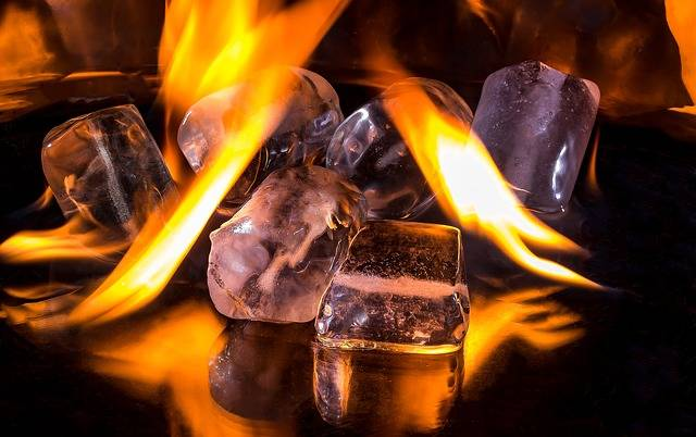Free photo: Ice Cubes, Fire, Flame, Burn, Hot - Free Image on Pixabay - 1914351 (45222)
