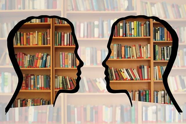 Free illustration: Silhouette, Head, Bookshelf, Know - Free Image on Pixabay - 1632912 (46706)