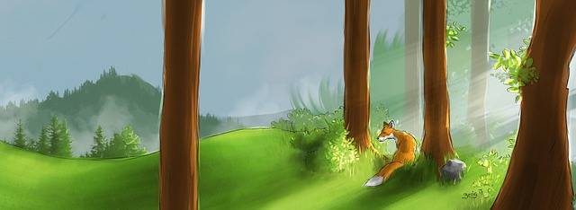 Free illustration: Forest, Fox, Patience, Devotion - Free Image on Pixabay - 2386721 (49651)