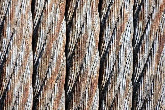 Free photo: Steel Cables, Wire Mesh, Woven - Free Image on Pixabay - 187861 (52252)