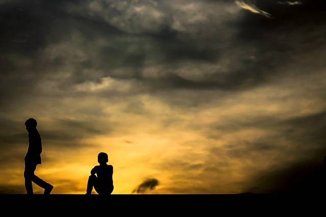 Free photo: Sunset, Boys, Sky, Going Home - Free Image on Pixabay - 2724464 (53592)