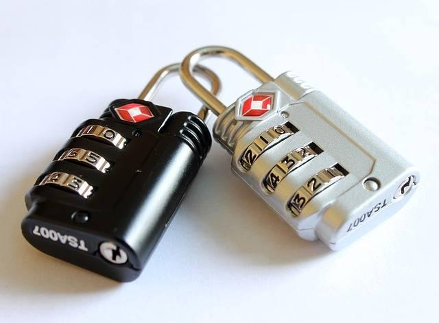 Free photo: Padlocks, Locks For Bags - Free Image on Pixabay - 597815 (54168)