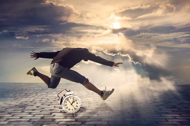 Free photo: Time, Man, Jump, Alarm Clock - Free Image on Pixabay - 2743994 (57016)