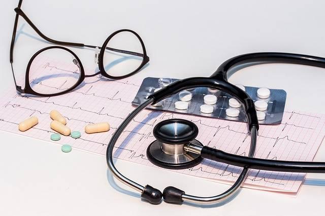 Free photo: Ecg, Electrocardiogram, Stethoscope - Free Image on Pixabay - 1953179 (61346)