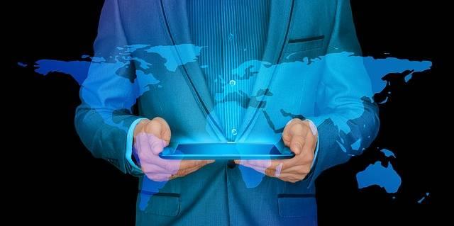 Free photo: Businessman, Internet, Continents - Free Image on Pixabay - 2682712 (62519)