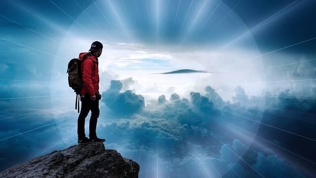 Free photo: Man, Clouds, Landscape, Beyond, Sky - Free Image on Pixabay - 2706901 (63197)