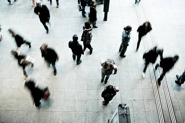 Free photo: Pedestrians, Rush Hour, Blurred - Free Image on Pixabay - 1209316 (64292)