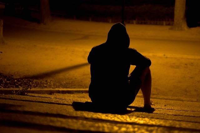 Free photo: Man, Lonely, Park, Night, Dark - Free Image on Pixabay - 1394395 (65061)