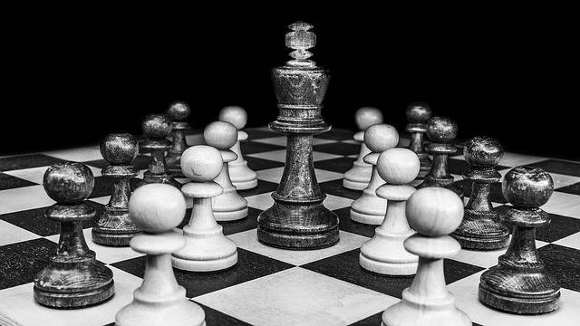 Free photo: Chess, Black White, Chess Pieces - Free Image on Pixabay - 2727443 (67223)