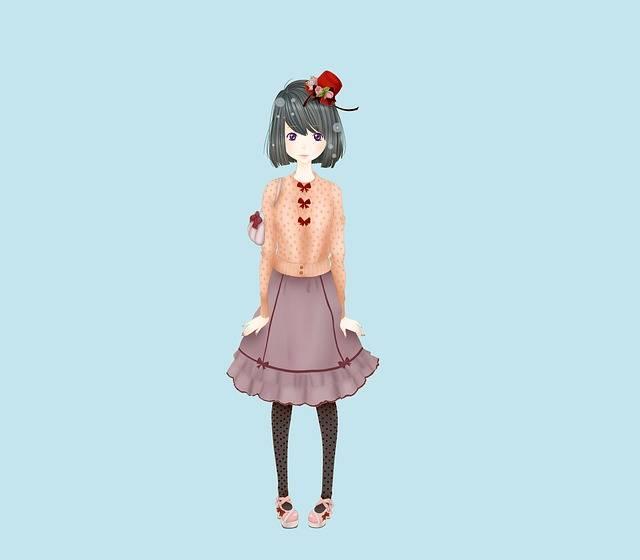 Free illustration: Girl, Lolita, Fashion, Illustration - Free Image on Pixabay - 1608724 (69455)