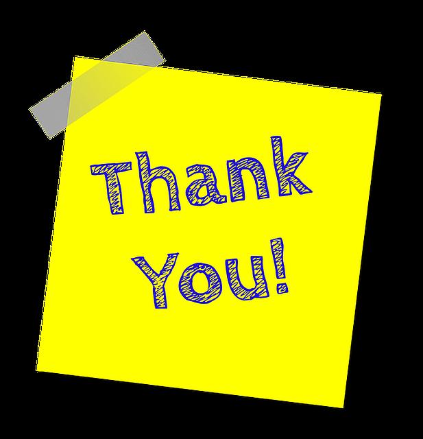 Free illustration: Thank You, Note, Thank - Free Image on Pixabay - 1428147 (73104)