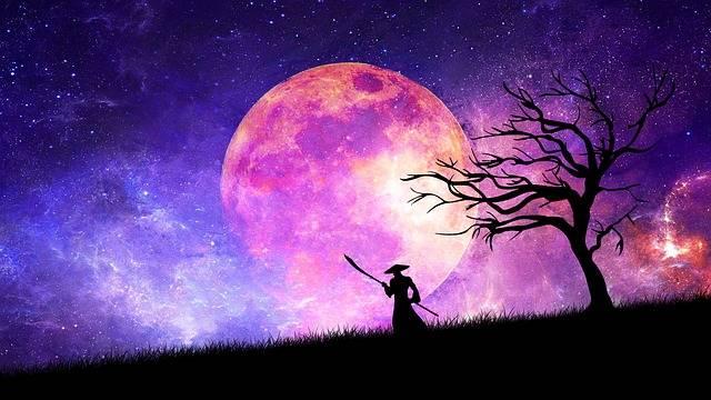 Free illustration: Samurai, Moon, Cosmos, Sword, Ninja - Free Image on Pixabay - 2284562 (75063)