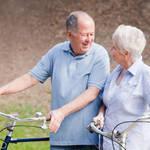 高齢者の自転車