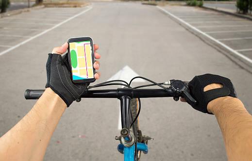自転車用途に開発されたGPS