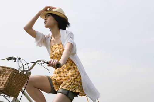 通学用の自転車、ママチャリにも取り付けよう!