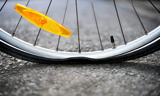 パンクしにくい自転車を