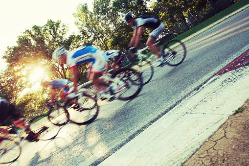 選手それぞれの自転車