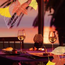 神奈川県・三浦の海に面したレストラン「シーボニア クラ...
