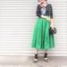 春の一大トレンド♪「ミモレ丈フレアスカート」のお洒落ブロガーに学ぶ着こなしのコツ25選!【ユニクロ・GU】