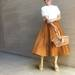 SNSで話題の#神スカートに新色登場!ユニクロ「サーキュラースカート」で今すぐマネしたい最旬コーデ