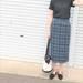 少しずつ秋を取り入れたい♡GUのタータンチェックナローミディスカートで作る最旬秋コーデ