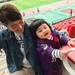 京都サンガvsロアッソ熊本 パパの応援にみんなでいきました♡