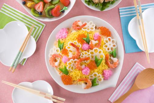 ひな祭りは『ちらし寿司ケーキ』で決まり♪女のコが喜ぶか...