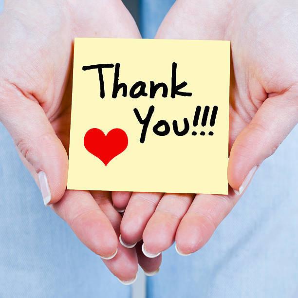 ありがとうの気持ちと周囲への配慮が大切。