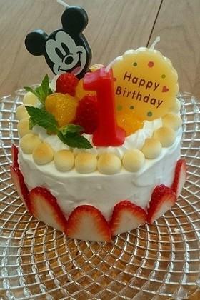 1歳バースデーケーキ by rosemarine [クックパッド] 簡単おいしいみんなのレシピが257万品 (57)
