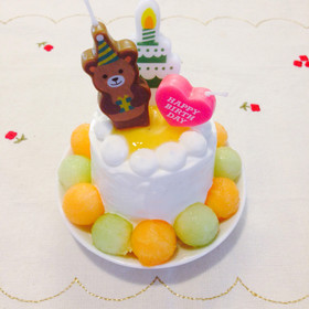 1歳の誕生日ケーキ♡離乳食 by mano_R [クックパッド] 簡単おいしいみんなのレシピが257万品 (87)