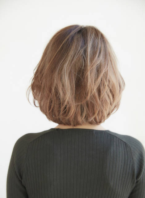 【ボブ】★迷ったらコレ!イノセントボブ★/ZACC raffineの髪型・ヘアスタイル・ヘアカタログ|2017秋冬 (162)