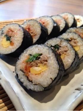 時短!簡単!韓国風海苔巻き・キンパ! by あかいさん [クックパッド] 簡単おいしいみんなのレシピが257万品 (240)